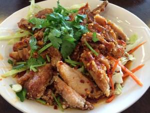 Thai Style Spicy Chicken 泰式椒麻雞